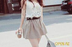 Lovely summer dress.white and ...