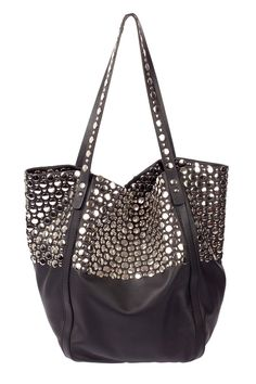 Best Bags in Sonia Rykiel This studded tote is as luxe as relaxed bags come and well worth the investment. Cute Handbags, Best Handbags, Purses And Handbags, Hand Baggage, Studded Bag, New Chic, Best Bags, Me Too Shoes, Purses