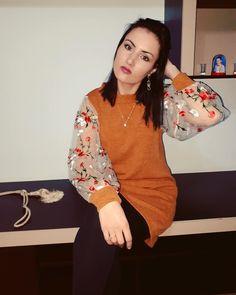 OOTD: Rochie tip pulover și botine