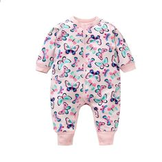 Dfenere Magical Unicorn1 Fashion Newborn Baby Long Sleeve Bodysuit Romper Infant Summer Clothing