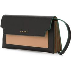 Small 'Metal Trunk' Crossbody Bag ($969) ❤ liked on Polyvore featuring bags, handbags, shoulder bags, print handbags, pink and black purse, print purse, crossbody handbags and shoulder strap bag