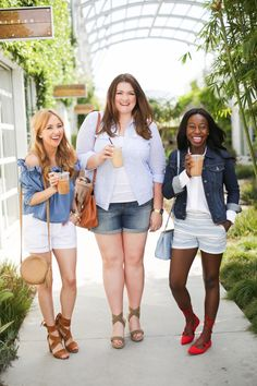 @TheEveryGirl styled our shorts 3 effortless ways for spring.