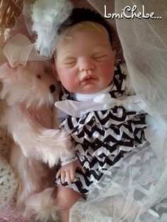 From The Sugar Kit Reborn Baby Doll Blythe 20 inch kit Completed Doll