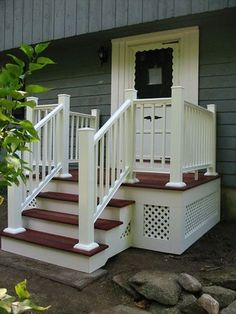 EXOVATIONS® Front Porch Addition Pictures - AFTER Photo | House ...