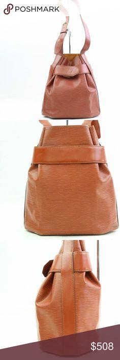 77d55c2444817 Louis Vuitton Sac D Epaule Epi Shoulder Bag 10902 (Outside Flaws)  Noticeable rubs