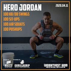   HOME WORKOUT  5 rounds for time: 8 burpees 16 hand release pushups 32 sit-ups  Check out our premium… Crossfit Wods, Crossfit At Home, Amrap Workout, Boot Camp Workout, Hero Workouts, At Home Workouts, Weight Vest Workout, Functional Workouts, Workout Routine For Men