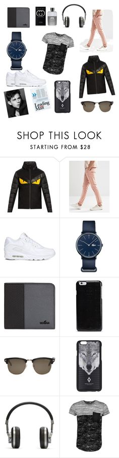 """My style"" by adnan-salkic-294 ❤ liked on Polyvore featuring Fendi, ASOS, NIKE, Lacoste, Hogan, Maison Margiela, Tom Ford, Marcelo Burlon, Master & Dynamic and Boohoo"