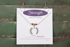 Strength Necklace | The Grief Toolbox