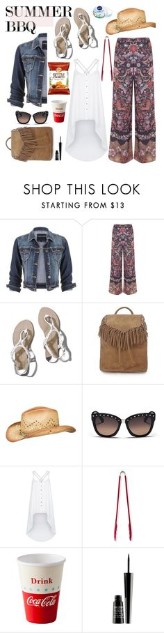 """""""Summer BBQ Style"""" by hamaly ❤ liked on Polyvore featuring maurices, Miss Selfridge, Abercrombie & Fitch, Topshop, Valentino, Lost Society, Dot & Bo, Lord & Berry, Nivea and summerstyle"""