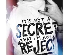 "5 Seconds of Summer 5SOS ""REJECTS"" song Doodle T-shirt © Design by Euclea Tan"