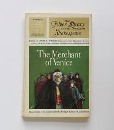 Merchant of Venice by William Shakespeare by AnemoneReadsVintage