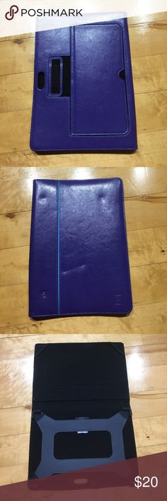 Microsoft Surface Leather Case A snug purple leather case, brand new microsoft Accessories Laptop Cases