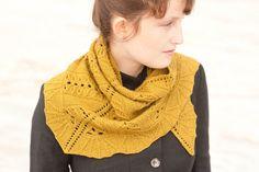 sweet honey shawl