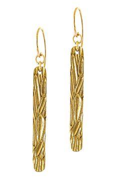 Wood earrings // BEVIN
