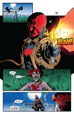 Red Hood/Arsenal Issue #11 - Read Red Hood/Arsenal Issue #11 comic online in high quality