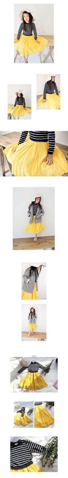 Peach & Cream More Dress (2C) | jujubunnyshop