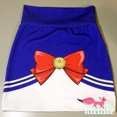 PRE-ORDER Sailor Moon High Waisted Skirt