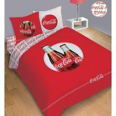 Coca cola themed room colors