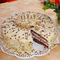 Giotto - Schwarzwälder 6 - Tours,Trips,Home Decoration,Hairstyle Pie Cake, No Bake Cake, Cake Cookies, Cupcake Cakes, Baking Recipes, Cake Recipes, Bistro Food, Naked Cakes, Austrian Recipes