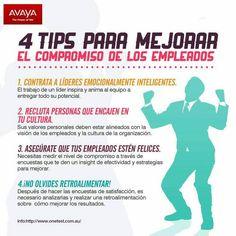 #compromiso #trabajo #liderazgo #empleados #tips