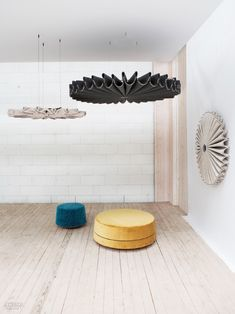 Acoustical Furniture Application: BuzziPleat by BuzziSpace***