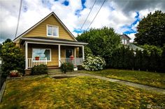 For sale: $199,900. Solid, Turn of the Century, modernized 4 bdrm, 2 full bath home on W. 5th, Aberdeen. Conveniently Close to schools & parks. 10,000 sq/ft. lot. Mostly fenced. Nearly 2700 sq/ft. of living space. Living & family room areas. Natural light throughout. New interior & exterior paint, S.S. Appliances & elec. panel box. Spacious rooms, Dbl pane windows, gas fireplace insert, Large Back and front covered porches. Hot Tub. Over-sized garage w/shop, & bonus room. WA/DR stay. Secured…
