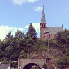 Visite de Saarbrug
