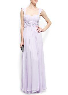 MANGO - CLOTHING - Dresses - Maxis - Silk long dress