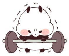 Chibi Panda, Chibi Cat, Little Panda, Panda Love, Panda Wallpapers, Cute Wallpapers, Bff Drawings, Easy Drawings, Panda Lindo