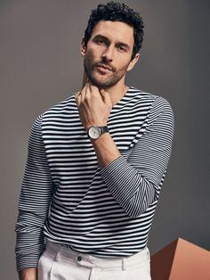 sailor stripes // Massimo Dutti SS 2017 #menswear #simplydapper #stylish