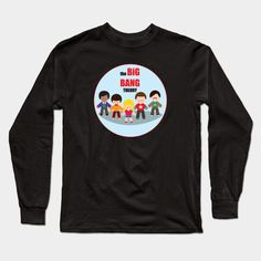 The Big Bang Theory Long Sleeve T-Shirt