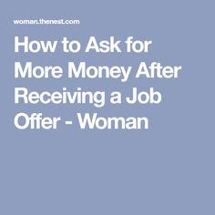 receiving a job offer