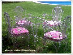 Sillon de hierro - Vintage chair | jardin | Pinterest | Sillones