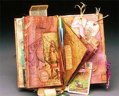 Books as Art: Carol Owen's mixed media