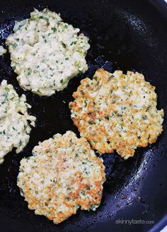 This is a delicious way to prepare cauliflower. It's similar to the taste of a potato pancake and makes a fabulous side dish – your kids will love them!  My Sicilian friend Julia is a wonderful cook. I remember the first meal I ate in her NYC apartment; lamb chops and fried cauliflower which she calls broccoli a pasteta. She joked that day you can fry a sponge and it would taste good – she's probably right. These are a lightened version of her recipe, made with Pecorino Romano, parsley…