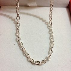 10m White K Silver Chain/Iron Oval Chain/Link Chain/for Necklace/for Bracelet