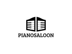 Piano Saloon logo by Dick Blacker