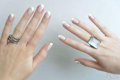 Francesinha diagonal, francesinha, unhas, french manicure, nails http://www.dicasdemulher.com.br/francesinha-diagonal/