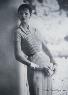 From 1950s Vogue Knitting Book - No. 524