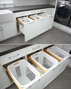 "684 Likes, 38 Comments - The Organised Housewife (@organised_house) on Instagram: ""Clever laundry idea @lushome"""