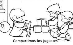 Compartimos los juguetes
