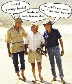 Alte Männer..