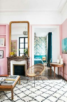 How to make your home more modern using the splendid pink