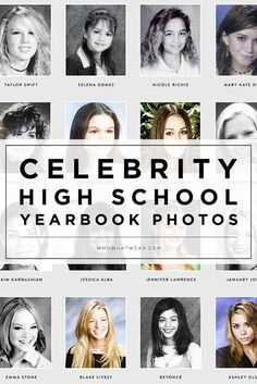 16 Awesome High School Yearbook Photos