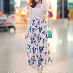 Women's Elegant Long Sleeve Slim Dress – USD $ 17.99