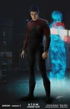 the flash armor suit art - Google Search