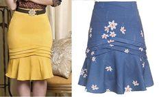 43e3b14e0a Fiz a modelagem desta saia com comprimento midi. como a azul. Caso queira  mais