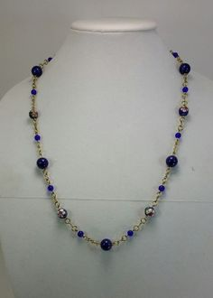 Royal Blues (Customer Design) - Lima Beads