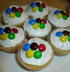 olympic cupcakes!  Cute!