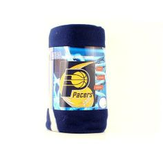 """Indiana Pacers Hot Shot Fleece Blanket Throw by Football Fanatics. Save 20 Off!. $19.89. Licensed NBA Pacer Fleece Blanket  50"""" X 60"""". Keep warm and cozy with the Hot Shot fleece blanket throw!Lightweight, compact fleece blanket throwHigh quality fibers for superior durabilityStitched hemGets softer with each washHypoallergenicMachine wash cold waterTumble dry low50"""" x 60""""Imported100% PolyesterOfficially licensed NBA product"""